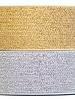 Sier-elastiek goud 4 cm (1 meter)