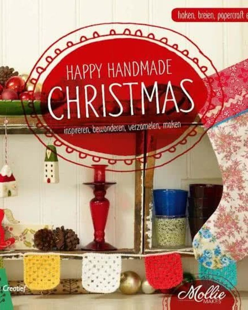 Boek - Happy handmade Christmas