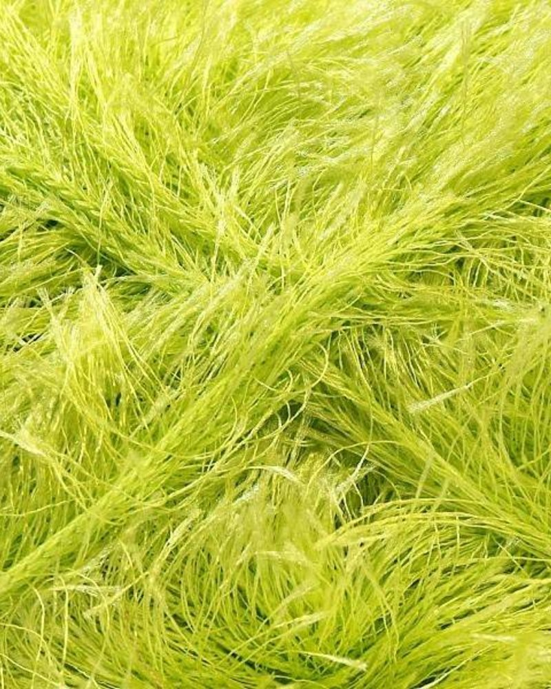 Ice Yarns Eyelash light green 100 gr