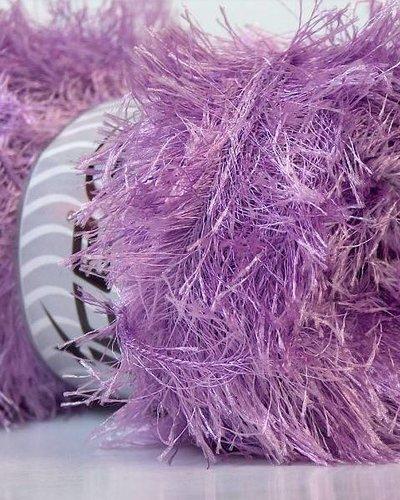 Ice Yarns Eyelash lilac 100 gr