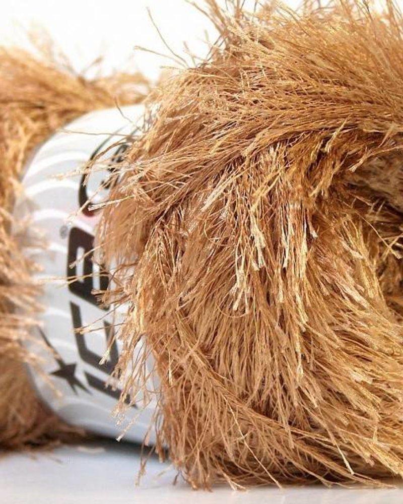 Ice Yarns Eyelash camel 100 gr