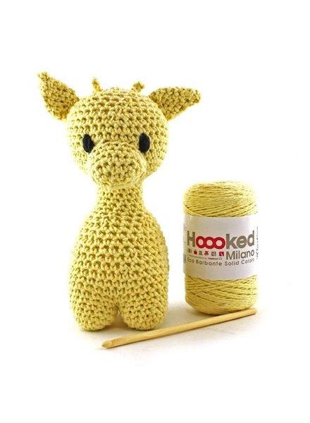 Pakket Hoooked - Giraffe Ziggy Popcorn