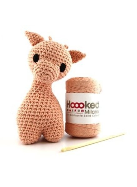 Pakket Hoooked - Giraffe Ziggy Apricot