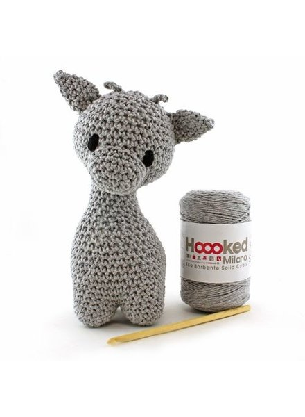 Pakket Hoooked - Giraffe Ziggy Gris