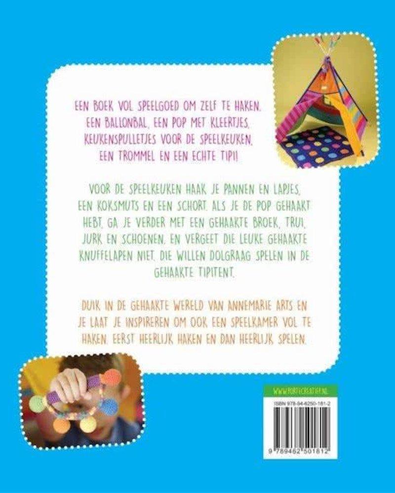 Boek - De gehaakte speelkamer
