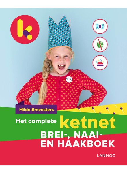 Boek - Het complete ketnet brei-, naai- en haakboek