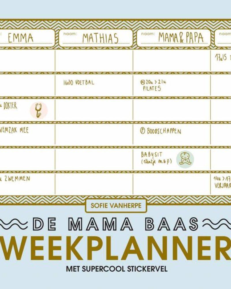 Boek - Mama baas weekplanner
