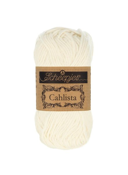 Scheepjeswol Cahlista 105 bridal white