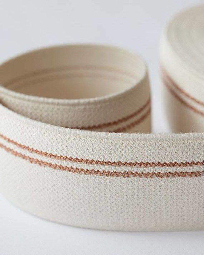Elastische tailleband - koperen lijn