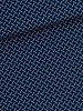 Katoen - Marching Marbles donkerblauw