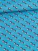 Katoen - We Want Waves levendig blauw