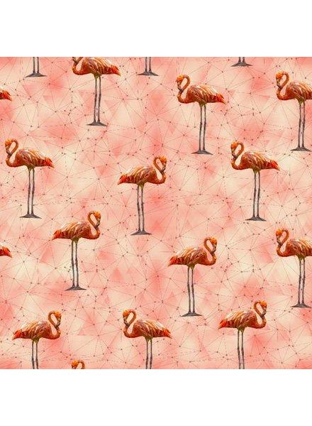Tricot - Pink flamingo