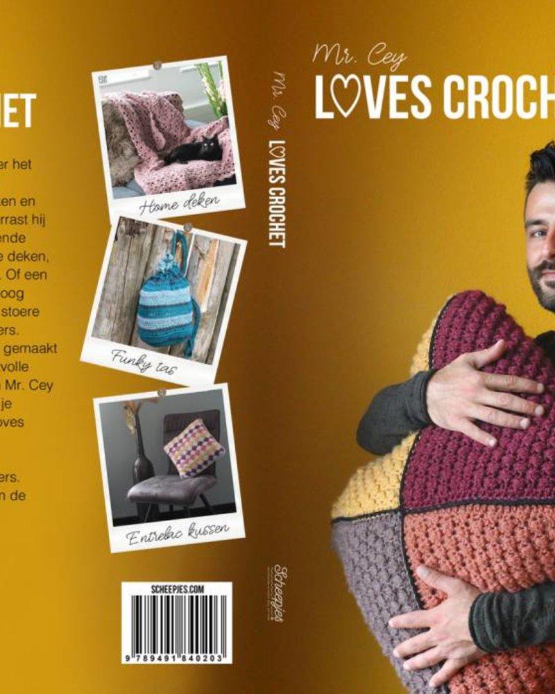 Boek - Mr Cey loves crochet