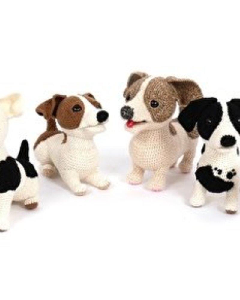 Pakket Woeffies haken: 1 hondje