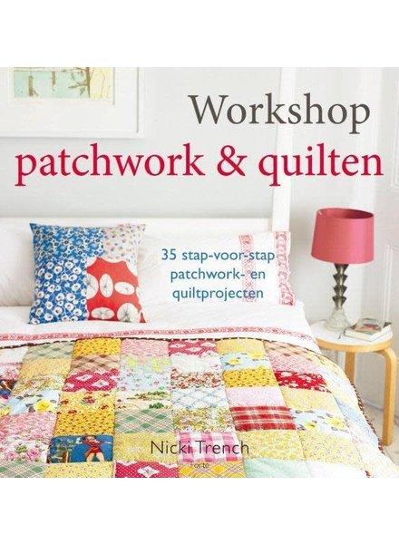 Boek - Workshop patchwork & quilten