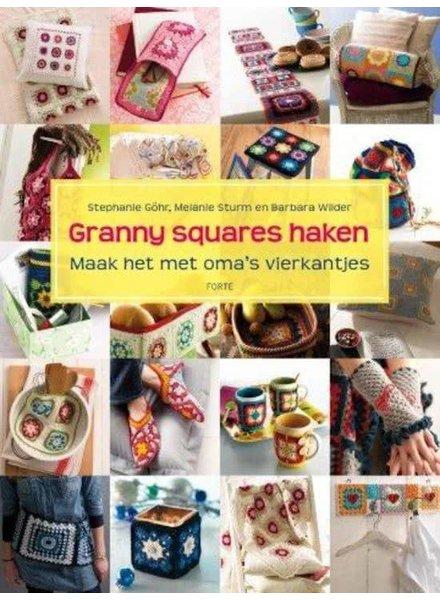 Boek - Granny squares haken