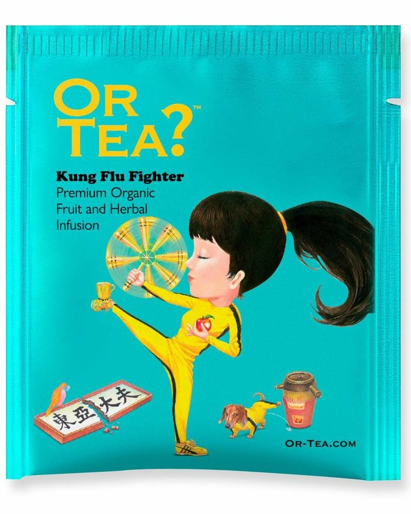Or tea? Builtjes - Kung Flu Fighter