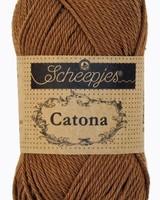 Scheepjeswol Catona 157 root beer (50 gr)