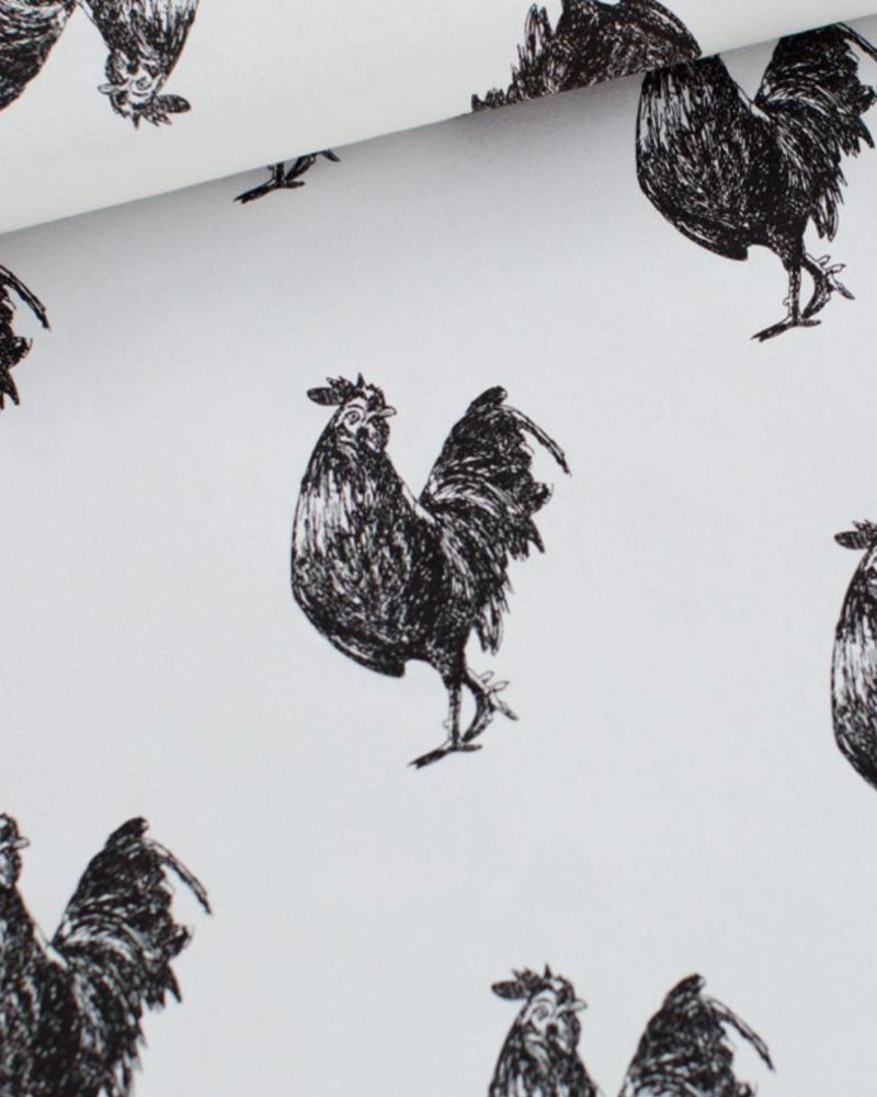 French Terry - Rooster Arctisch blauw