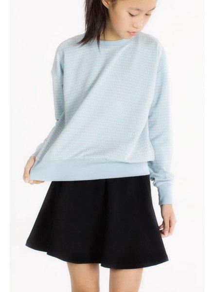 Sweater Grill mistblauw