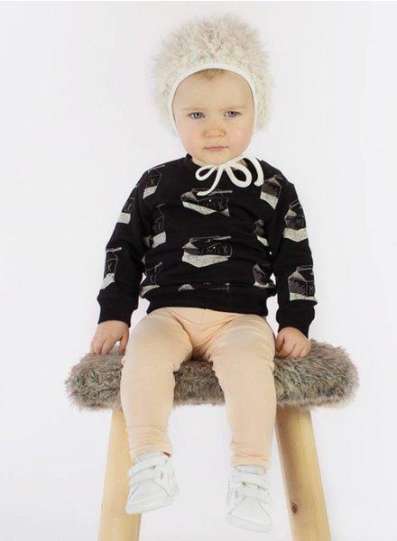 Sweater Milk zwart wit