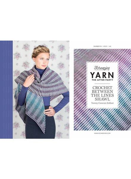 Patroon - Omslagdoek Crochet Between the lines (in Scheepjes Whirl)