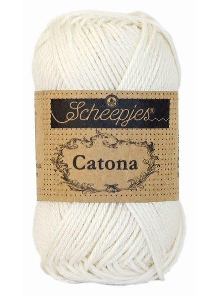 Scheepjeswol Catona 105 bridal white (100 gr)