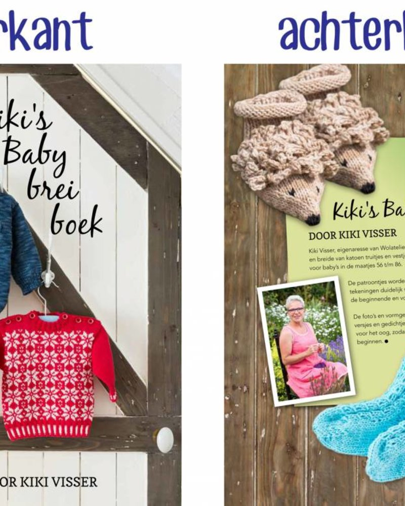 Boek - Kiki's Baby breiboek