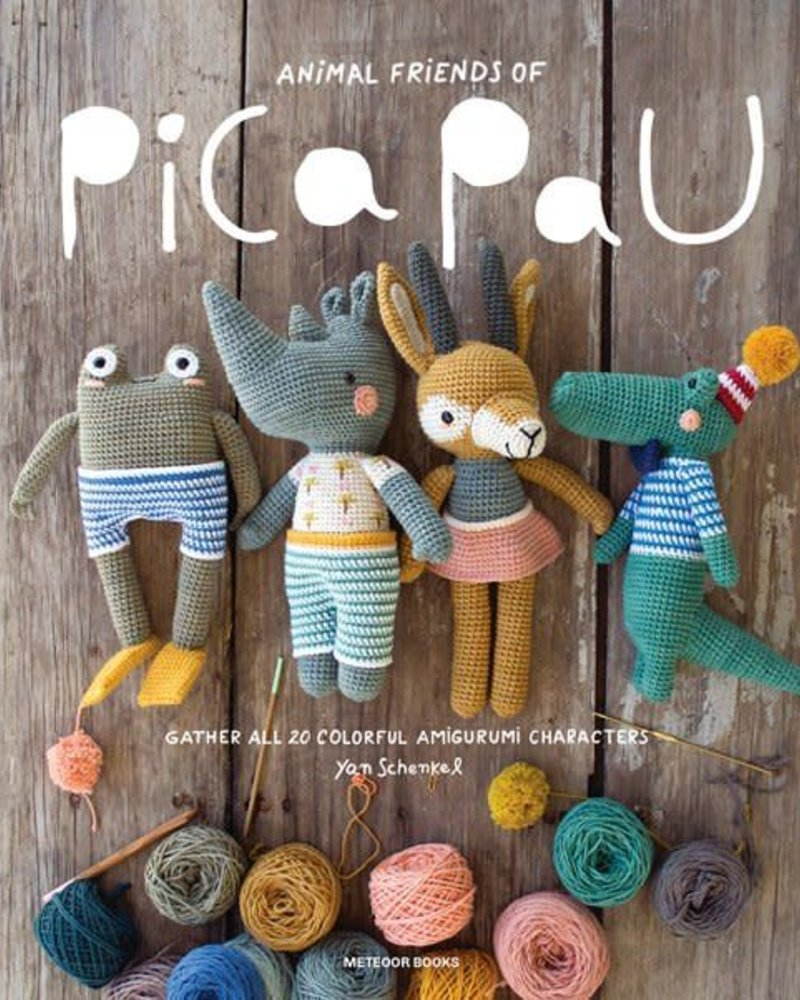 Boek - Animal friends of Pica Pau