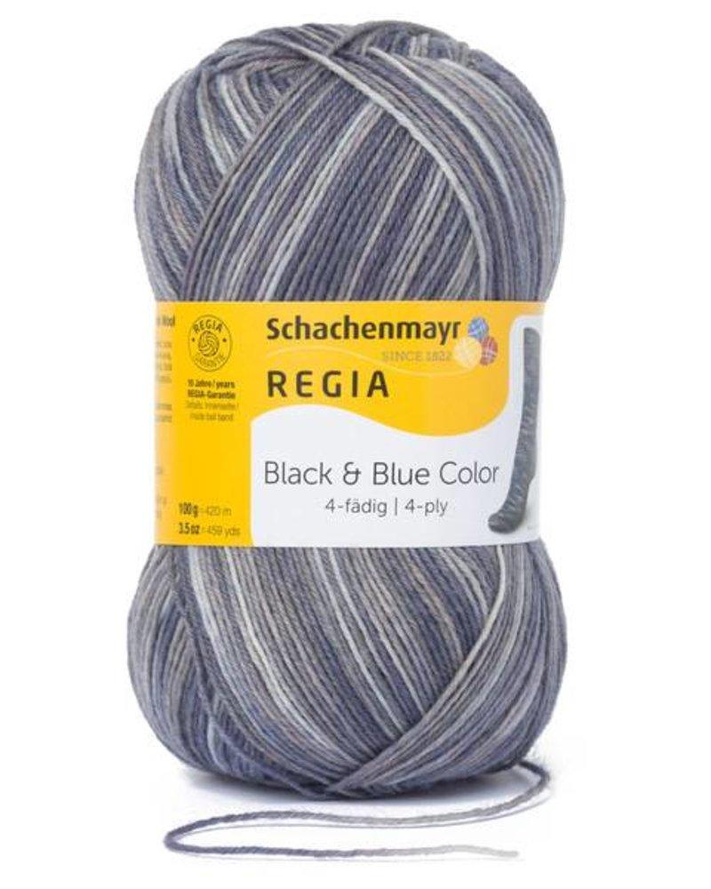 Regia Black & Blue Color 4-draads 8879 Wüste (100 gr)