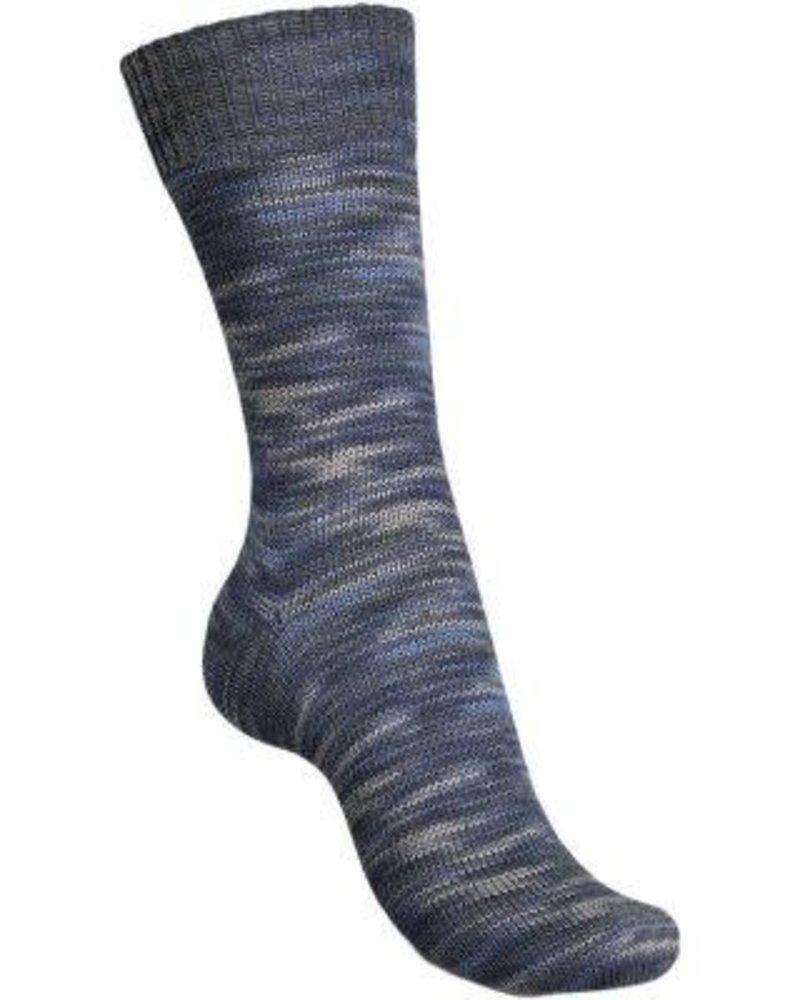 Regia Black & Blue Color 4-draads 8880 Wolke (100 gr)