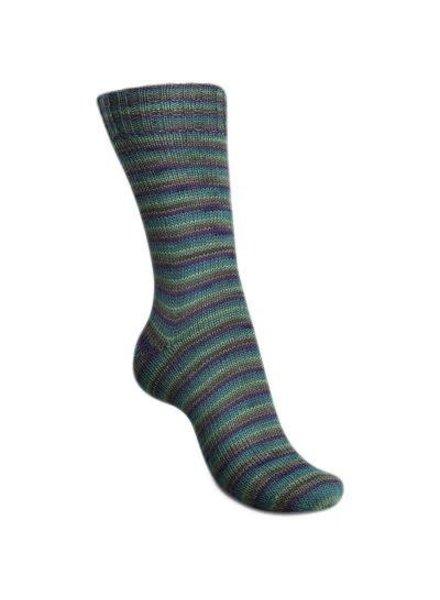 Regia Mini Stripes Color 4-draads 2996 Garden (100 gr)
