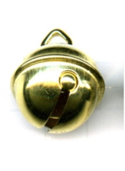 Belletje 9 mm goudkleur