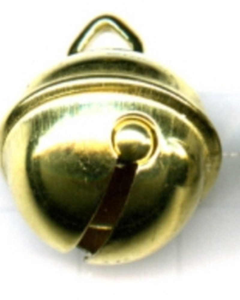 Belletje 15 mm goudkleur