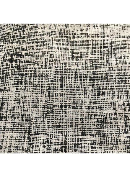 Sweat - Sketch - grijs - Coupon 1m