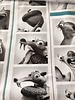 Tricot - Ice Age - oudroze - Coupon 1m