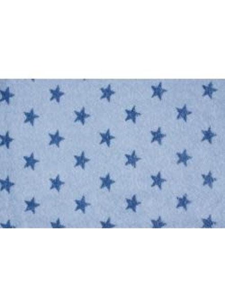 Sweat - Blauw ster - Coupon 0,8m