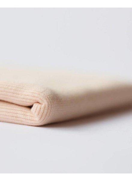 Boordstof - Amberlicht roze - Coupon 80 cm