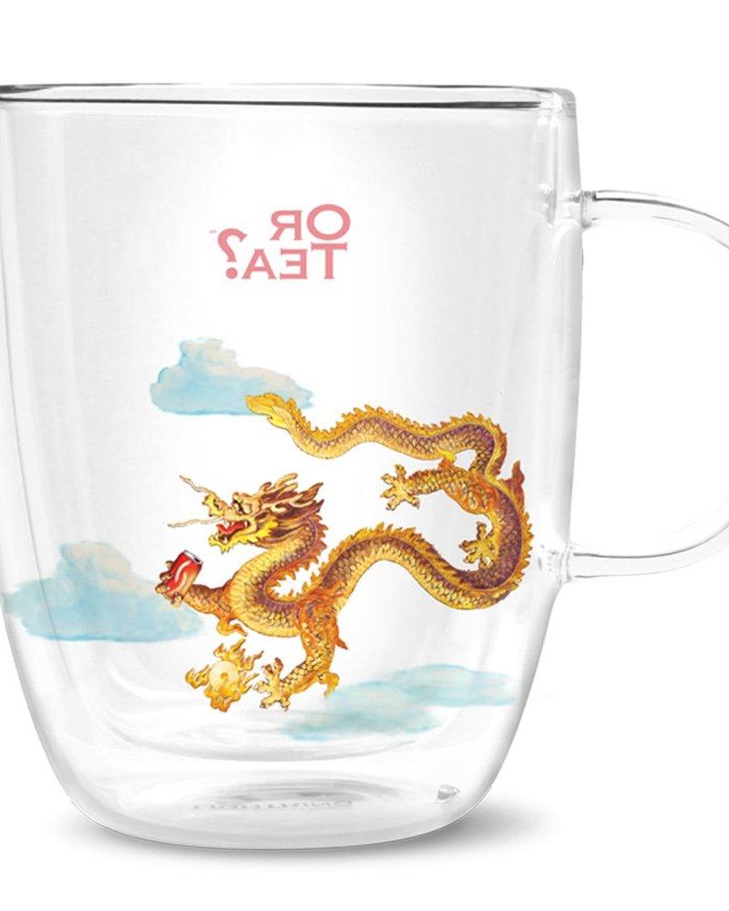 Or tea? Dragon glass (dubbelwandig)