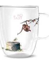 Or tea? Monkey glass (dubbelwandig)