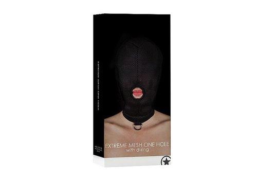BDSM masker met D-ring