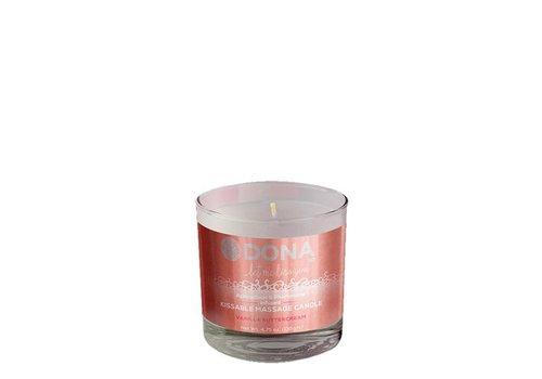 Dona Kissable Massage Candle Vanilla