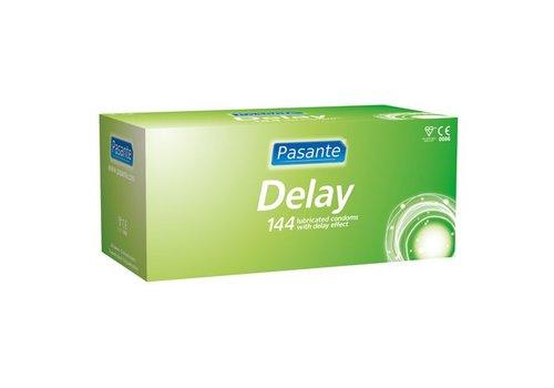 Pasante Delay condooms, 144 stuks