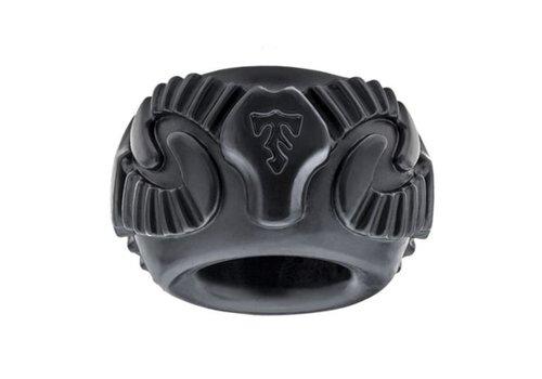 Tribal Son Ram Ring - Zwart