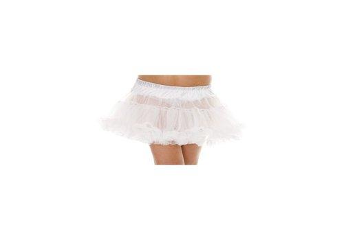 Plus Size Petticoat - Wit