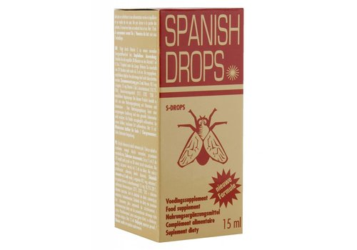 SPANISH FLY DROPS GOLD - 15ml