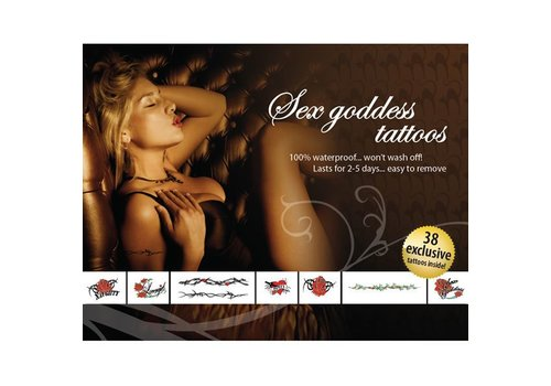 Tattoo Set - Sex Godin