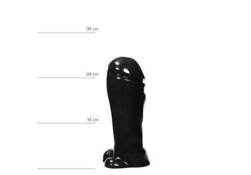 Realistische Dildo 22 cm - Zwart