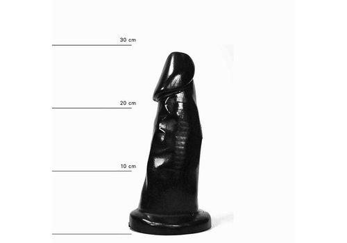 All Black Dildo 39 cm