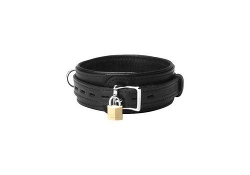 Strict Leather halsband met vergrendelig